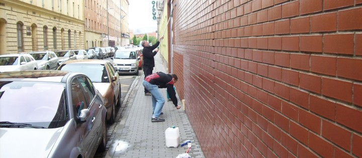 Antigraffiti náter 1