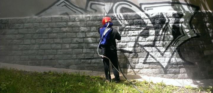 odstraneni graffiti