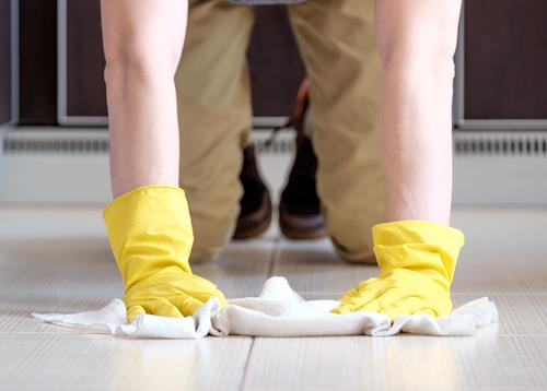 Umývanie podlahy - rýchle a hospodárne čistenie