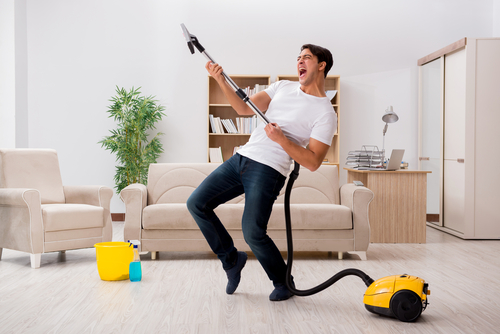 dezinfekčné čistenie kobercov